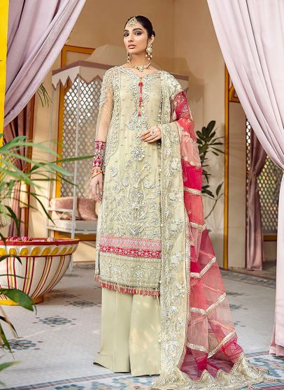 Kehkshan Embroidered Pakistani Salwar Kameez