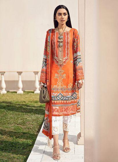 Meheroze Embroidered Pakistani Salwar Kameez
