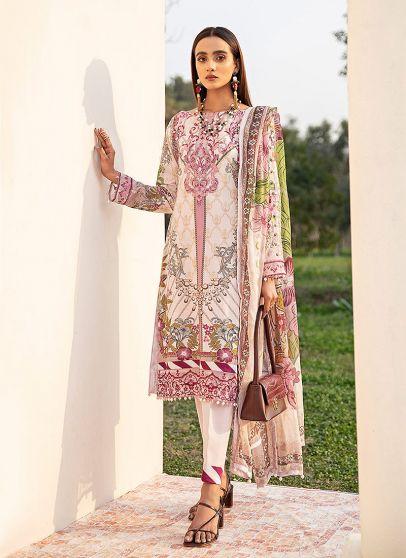 Azaleh Embroidered Pakistani Salwar Kameez