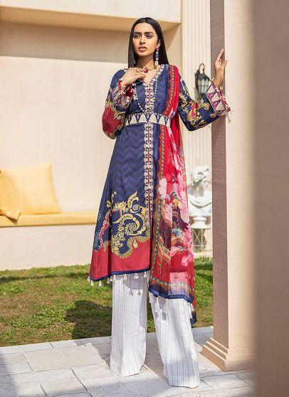 Aashna Embroidered Pakistani Salwar Kameez