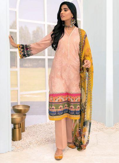 Elmas Embroidered Pakistani Salwar Kameez