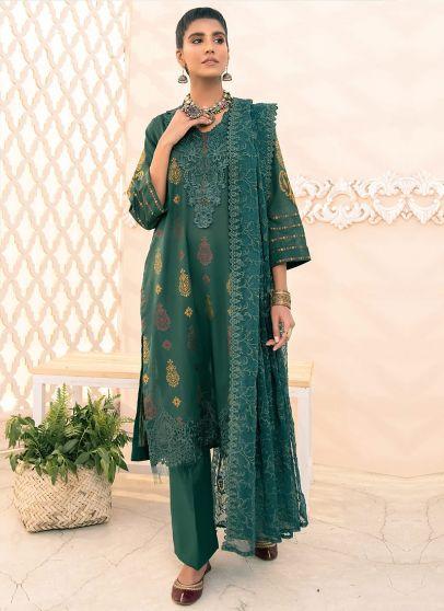 Zumrut Embroidered Pakistani Salwar Kameez
