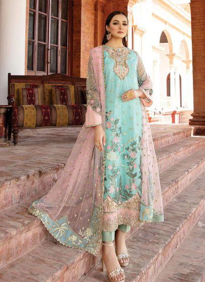 Esperer Embroidered Pakistani Salwar Kameez