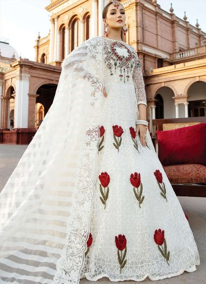 Rosalee Embroidered Pakistani Gown