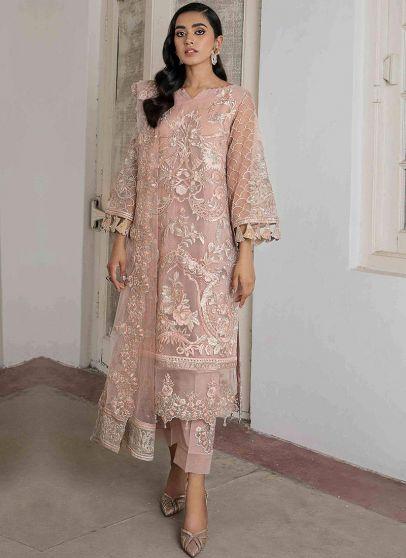 Shazmina Embroidered Pakistani Salwar Kameez