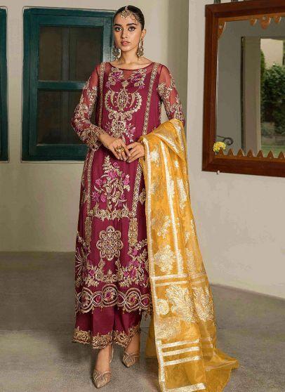 Roshina Embroidered Pakistani Salwar Kameez