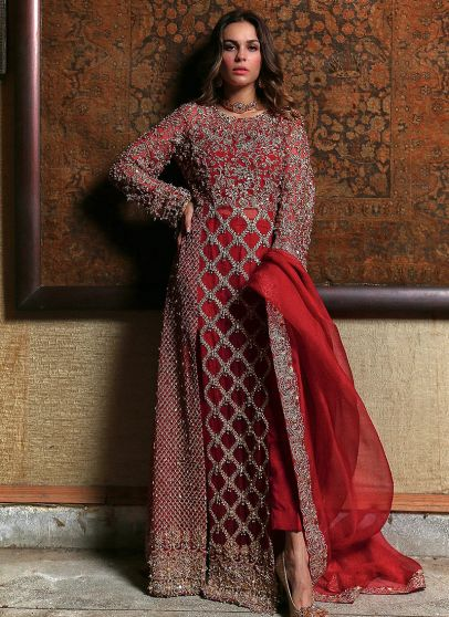 Tazeen Embroidered Pakistani Salwar Kameez