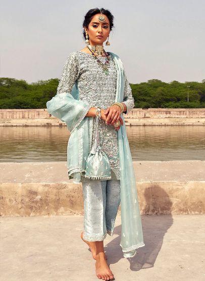 Neelum Heavy Embroidered Pakistani Salwar Kameez