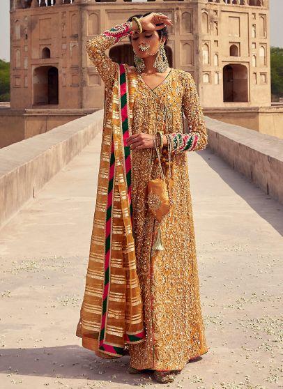 Mahrani Heavy Embroidered Pakistani Anarkali Suit