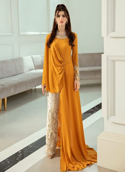 Fierre Allure Embroidered Pakistani Pant Suit