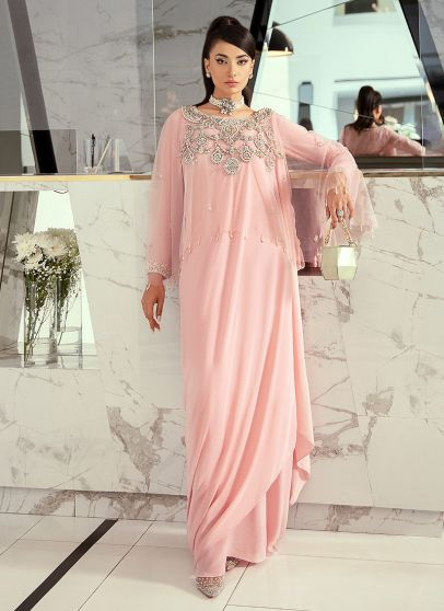 Le Rose Embroidered Pakistani Gown