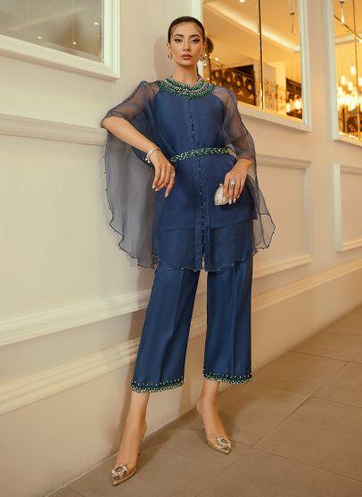 Cleone Embroidered Pakistani Palazzo Suit