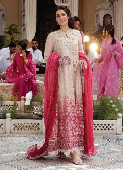 Mihr Embroidered Pakistani Anarkali Suit