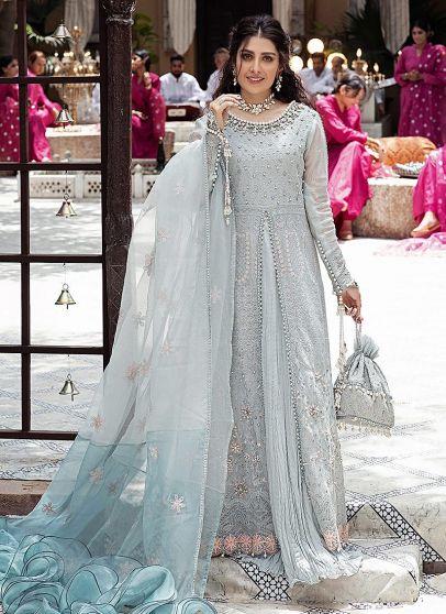 Masuma Embroidered Pakistani Anarkali Suit