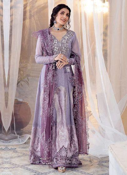 Zeenat Embroidered Pakistani Anarkali Suit