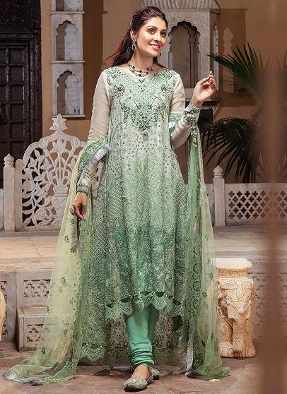 Gauhar Embroidered Pakistani Anarkali Suit