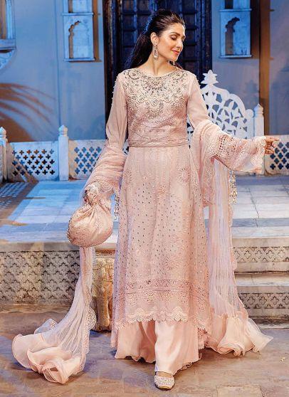 Nissa Embroidered Pakistani Anarkali Suit