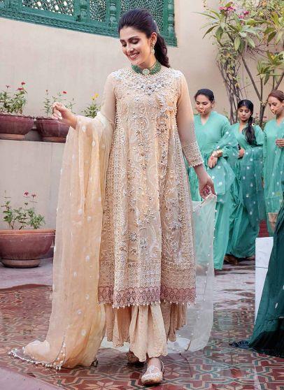 Sahiba Embroidered Pakistani Anarkali Suit