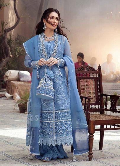 Sahar Embroidered Pakistani Anarkali Suit