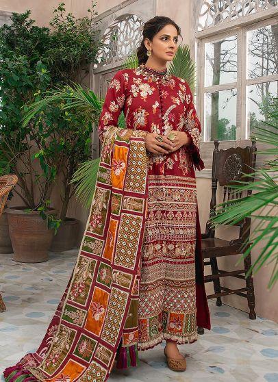 Mehfil Embroidered Pakistani Salwar Kameez