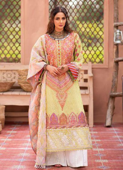 Meena Embroidered Pakistani Salwar Kameez