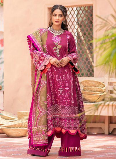 Jahanara Embroidered Pakistani Salwar Kameez