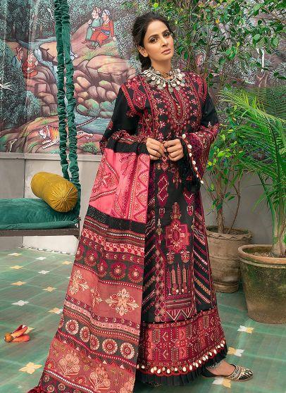Vasal Embroidered Pakistani Salwar Kameez