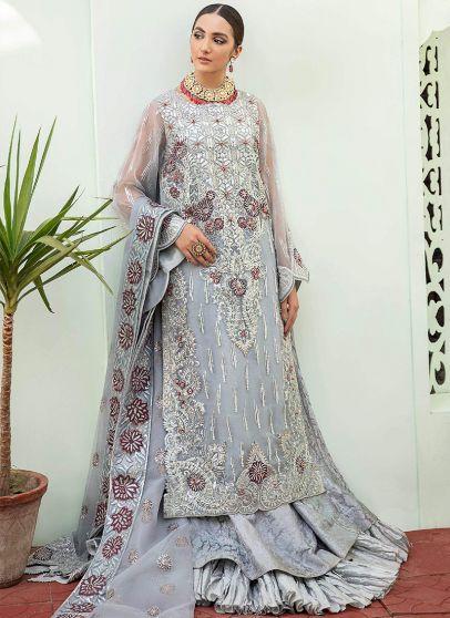 Razzle Dazzle Embroidered Pakistani Lehenga