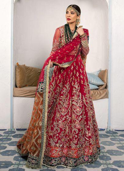 Nargis Embroidered Pakistani Lehenga
