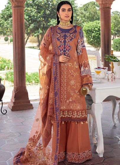 Andaaz Collection Embroidered Pakistani Palazzo Suit