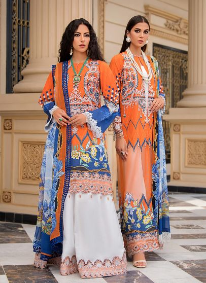 Jay Embroidered Pakistani Palazzo Suit/ Pant Suit