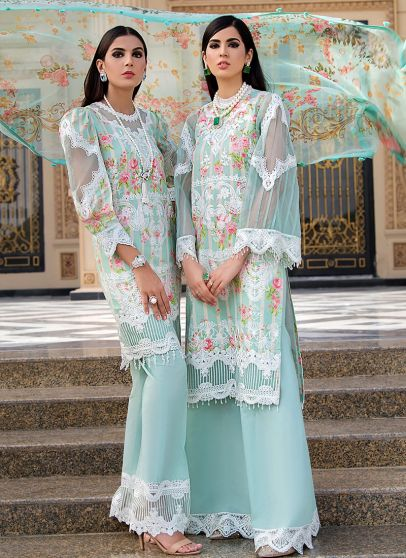 Kehlani Embroidered Pakistani Palazzo Suit/ Pant Suit