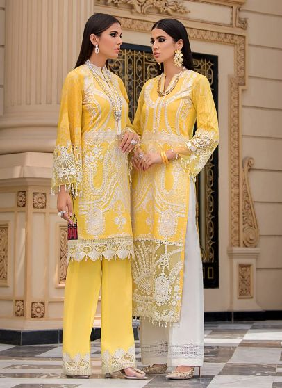 Robin Embroidered Pakistani Palazzo Suit/ Pant Suit
