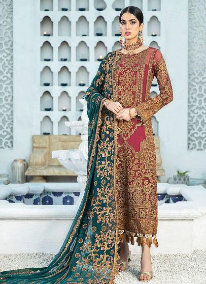 You're Fancied Embroidered Pakistani Salwar Kameez