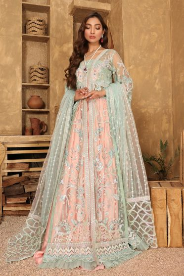 Bridal Collection Embroidered Pakistani Anarkali