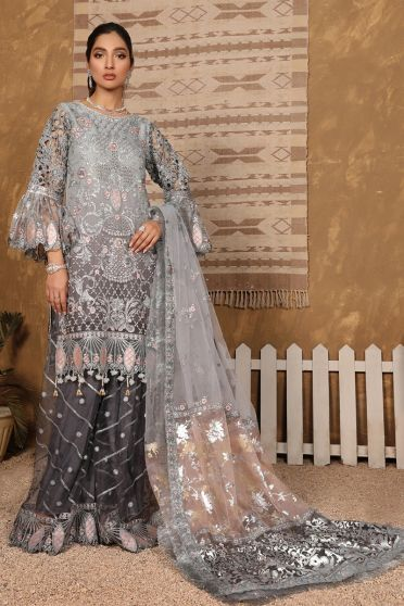 Bridal Collection Embroidered Pakistani Palazzo Suit