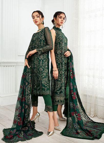 Ayrah Embroidered Pakistani Salwar Kameez