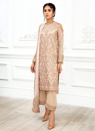 Nuriah Embroidered Pakistani Salwar Kameez