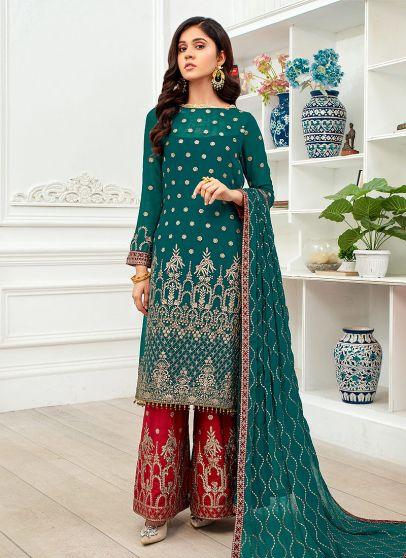 Sehar Embroidered Pakistani Salwar Kameez