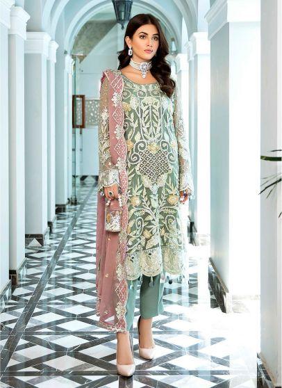 Zeenat Luxury Collection Embroidered Pakistani Salwar Kameez